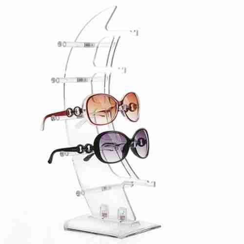 Customized Sunglass Holder Transparent Acrylic Glasses Displ