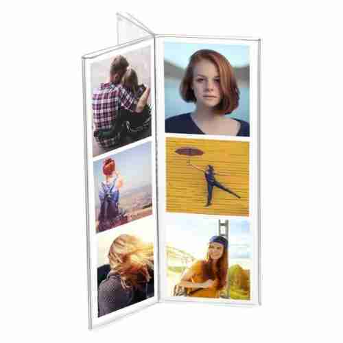 Acrylic 6 Sided Plexiglass Photo Booth Frame