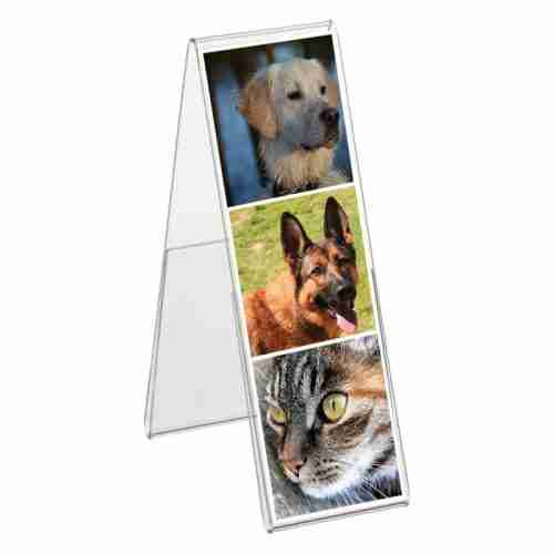 Clear Acrylic Frameless Photo Frame