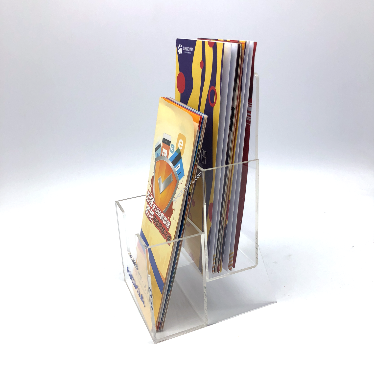 Custom acrylic brochure holders
