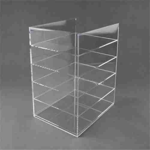 perspex book display stands