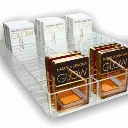 42 Slots Acrylic Makeup Compact Organizer