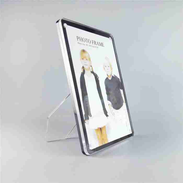 Free Stand Floating Acrylic Frame Photo Frame