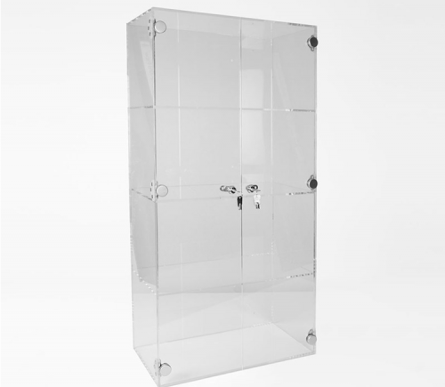 Custom made acrylic display cases