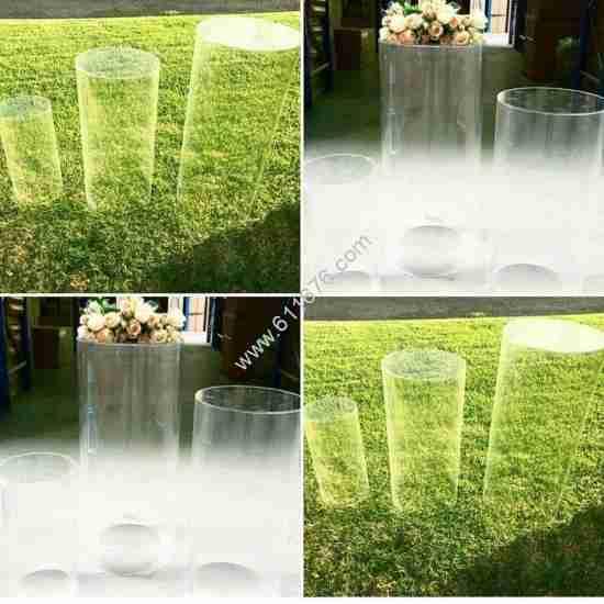 Clear Acrylic Display Pedestal Acrylic Plinth