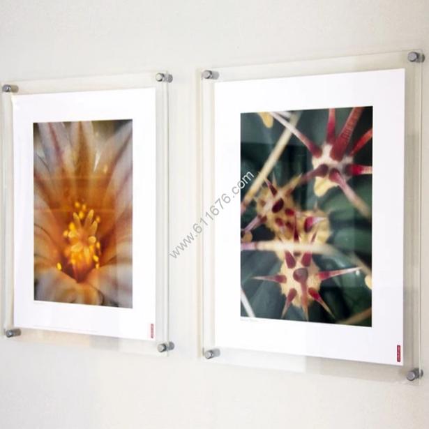 Acrylic floating frame custom size