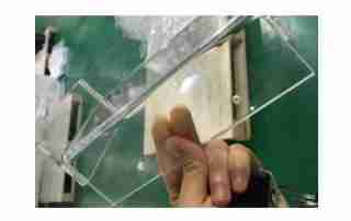 What are the common types of plexiglass?