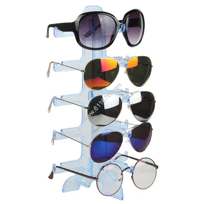 White Acrylic Eyewear Display Trays Separable Structure