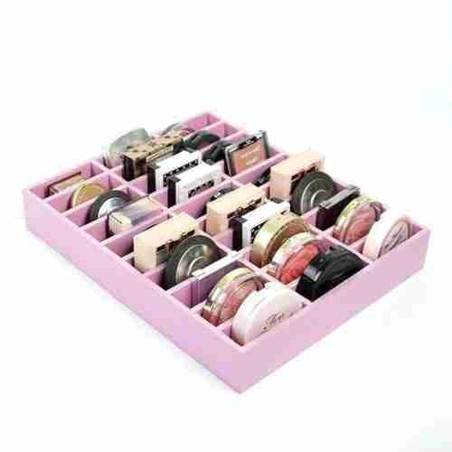 Customized Acrylic Compact Organizers Tray With Dividers