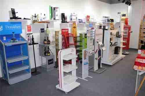 Custom acrylic product displays