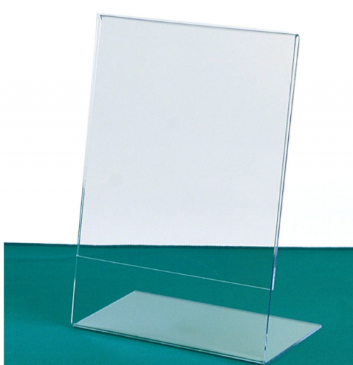 "Angled Sign Holders & Frames 4"" x 6"""