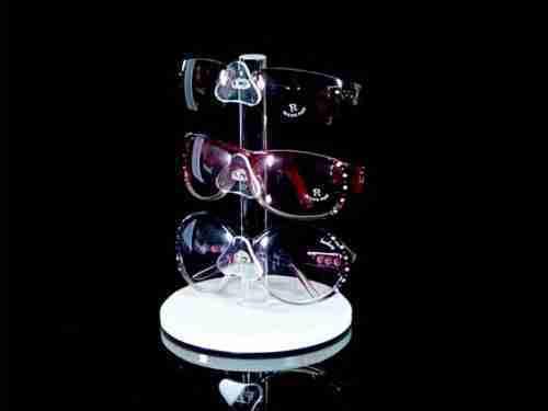 Glasses acrylic rotating display rack