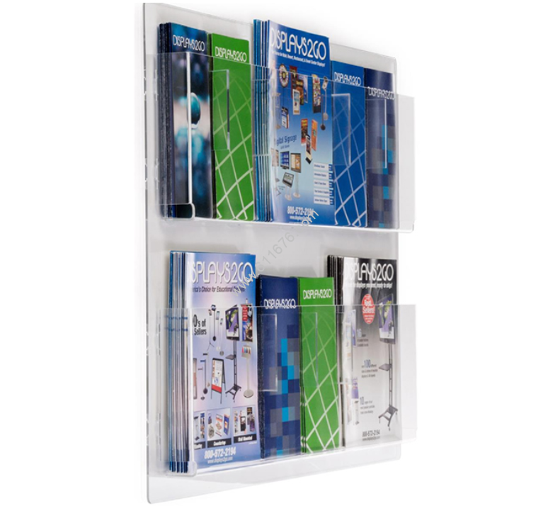 Acrylic outdoor brochure holders