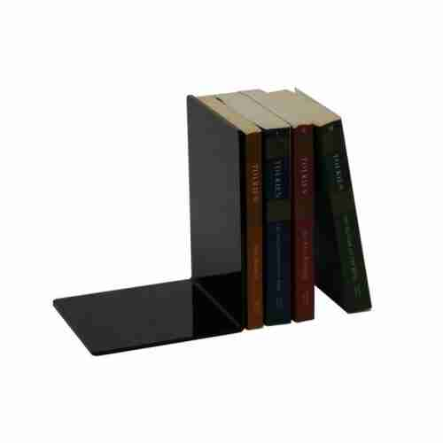 Custom Black Acrylic Book Display Plexiglass Acrylic Bookend