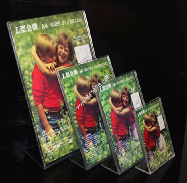 11 x 17 acrylic sign holder acrylic stand