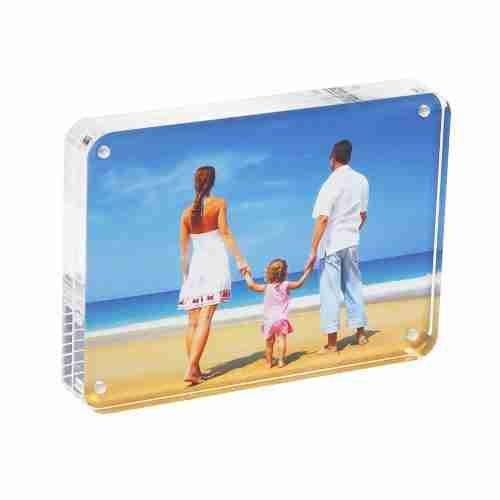 Custom clear Acrylic Photo Frame