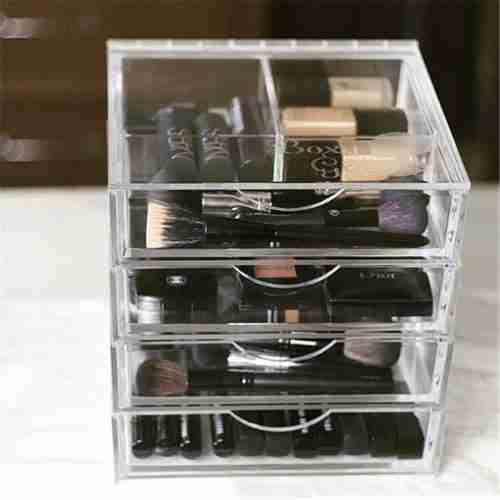Customized Clear Acrylic Drawer Organizer