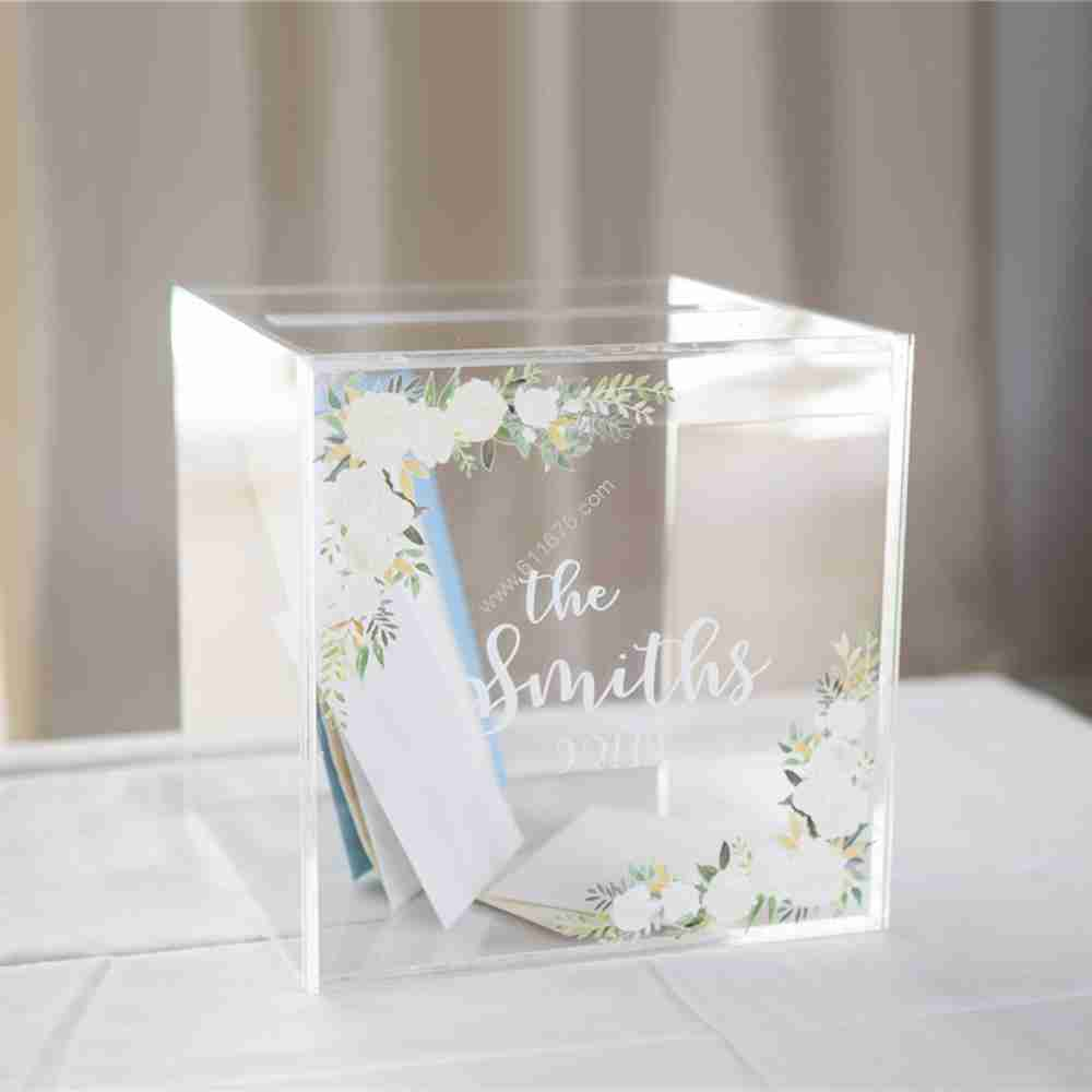large clear acrylic boxes wholesale