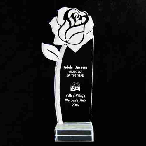 Blank Acrylic Award Crystal Trophy
