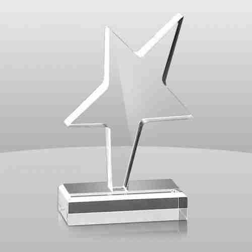 Modern Design Custom Acrylic Trophy