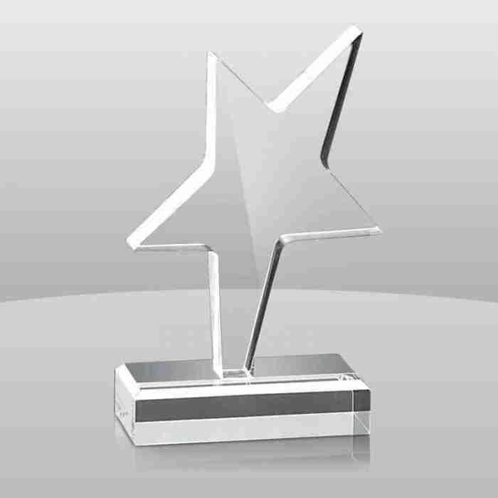 Modern Design Custom Acrylic Trophy