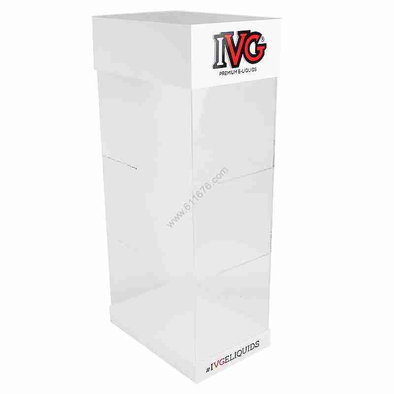 3 Tier Acrylic Large Display Case Lucite Display Cabinet For