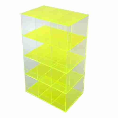 Customized Rotating Perspex Power Bank Stand Racks