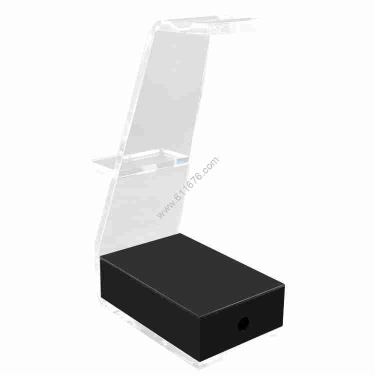 Custom tabletop headset display stand