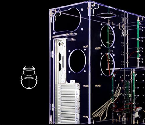 Custom acrylic pc cases