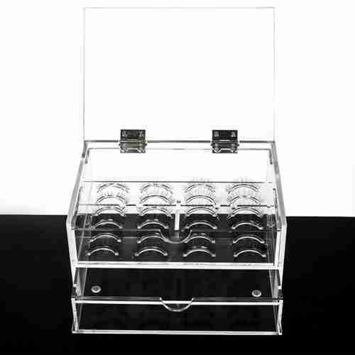 High Quality Acrylic Lash Organizer False Eyelashes Box