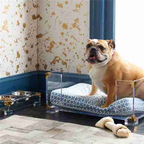 Custom Acrylic Dog Bed Pet Product