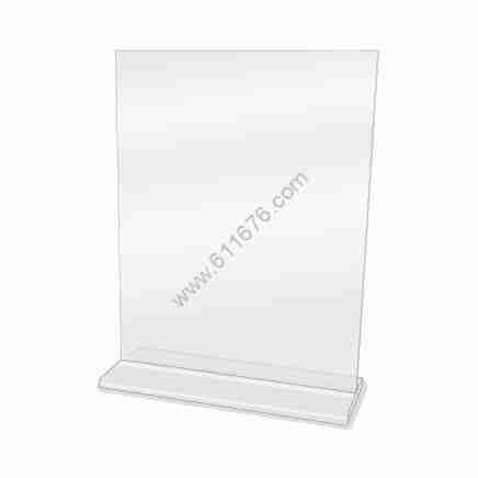 8.5x11 acrylic sign holder