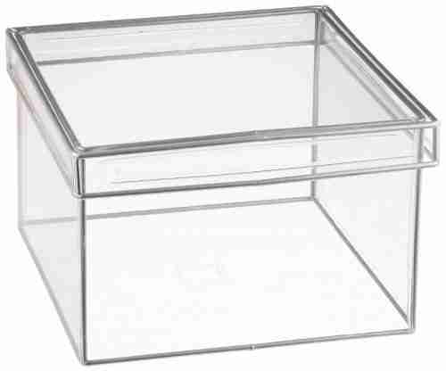 Acrylic box with lid wholesale