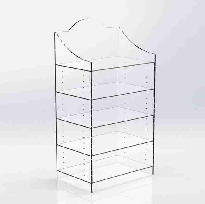 Manufacture Acrylic E-Cigarette Counter Top Display Unit
