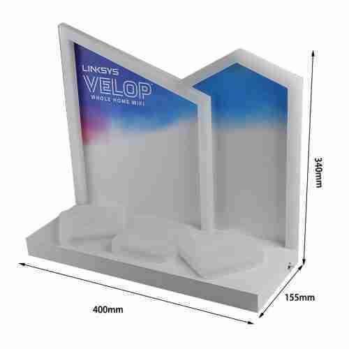 Cosmetics luminous acrylic display stand customization