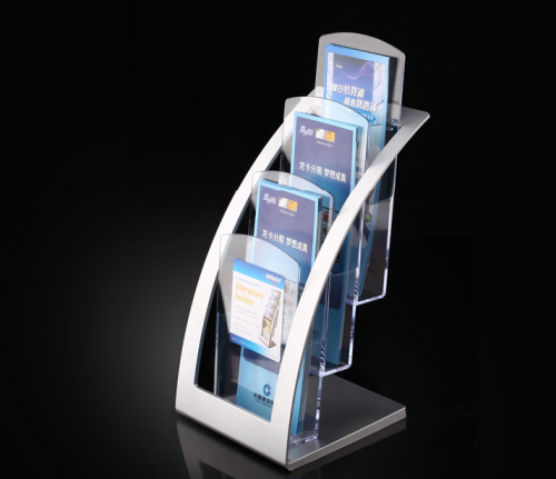 Acrylic display stand brochure display stand