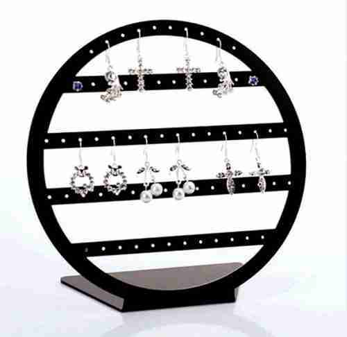 Acrylic earrings display stand