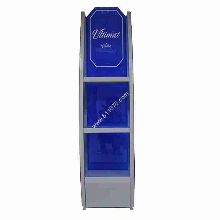 Floor custom wine display stand