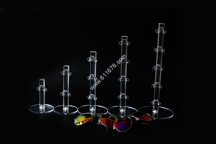 Acrylic glasses display stand 5 layers