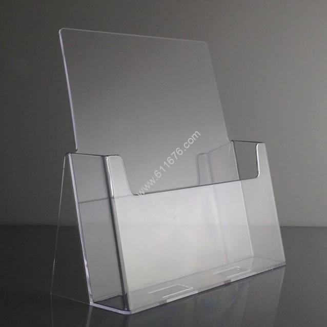 Acrylic brochure holders 8.5 x 11