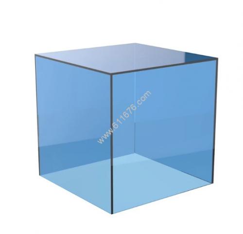 Custom colored acrylic boxes
