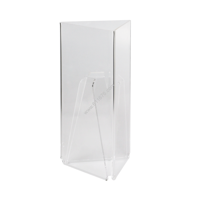 Acrylic Menu Holder with Three Faces