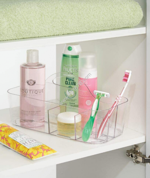 Acrylic Basket Bathtub Caddy