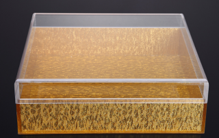 Why are most acrylic boxes made into Tiandi cover box?