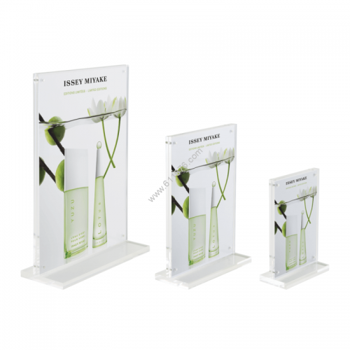Heavy Duty Magnetic Acrylic Block Sign Holder