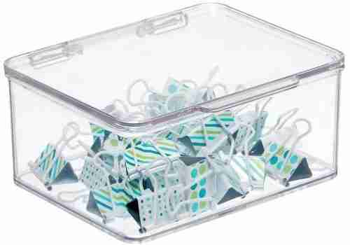 Acrylic Office Supplies Storage Organizer Box
