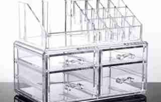 What is the acrylic storage box and what are the benefits?