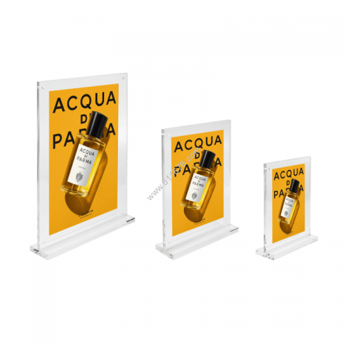 Magnetic Clear Acrylic Block Sign Holder