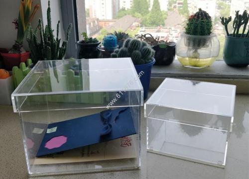 Acrylic Charity Donation Box Wedding Wishing Well Box
