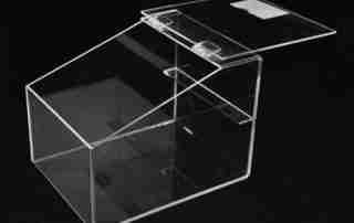 Three characteristics of acrylic box making